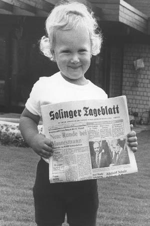 Das Solinger Tageblatt früher